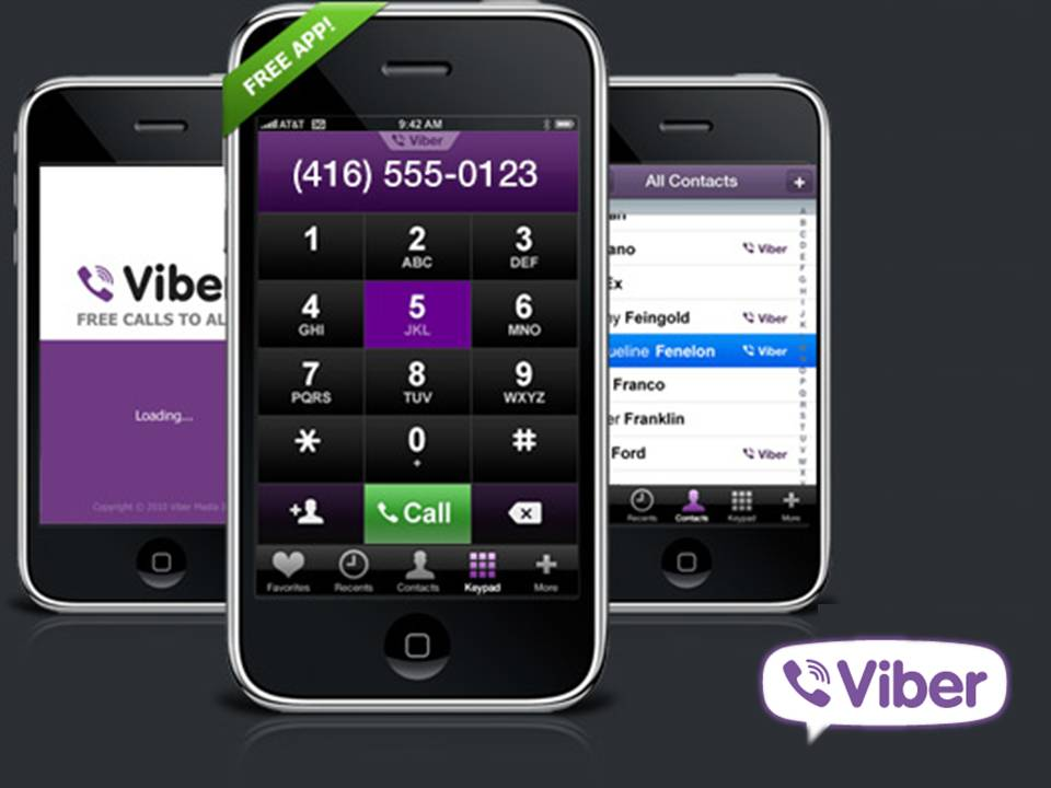 Viber lets you use your iPhone to make free calls and send free text